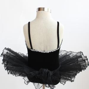 Black & White Velvet Tutu