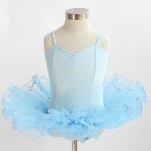 Blue Lycra Classical Style Tutu