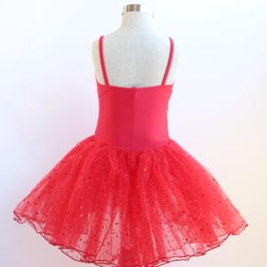 Red Romantic Style Tutu