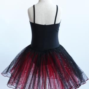 Red & Black Romantic Style Tutu