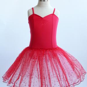 Red & White Romantic Style Tutu